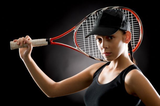 This image has an empty alt attribute; its file name is tennis-racket.jpg